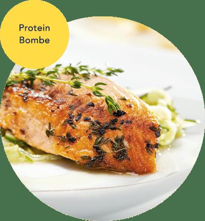 Ernährungsplan Beispiel-Rezept Mittagessen Lachs